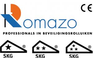 Stackdoor Romazo WK keurmerk