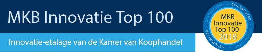 MKB Innovatie top 100 genomineerd 2018