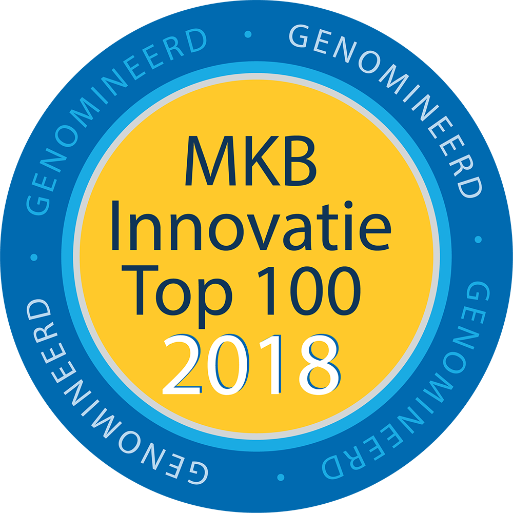 2018 - MKB Innovatie top 100 genomineerd