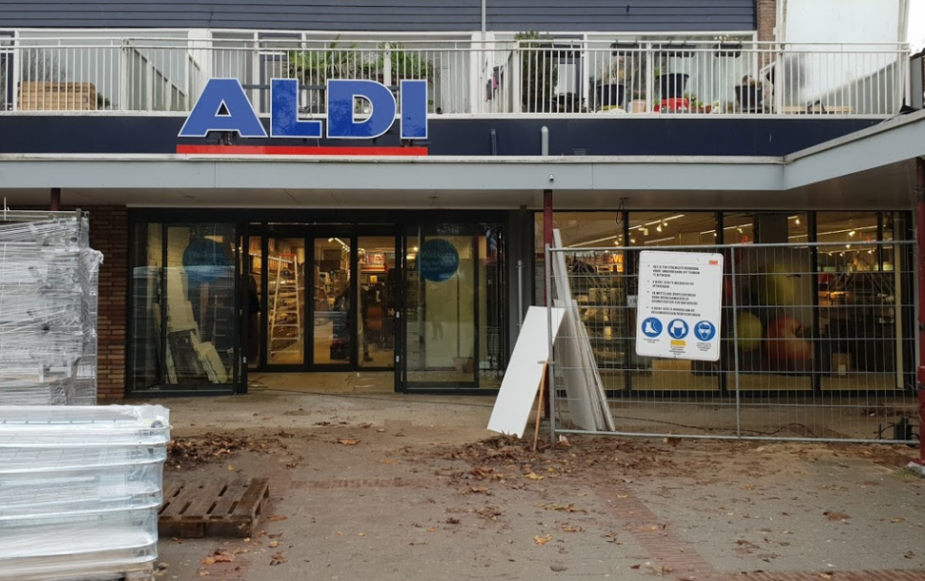 Stackdoor Aldi Gorinchem